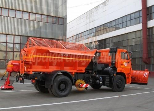 Илосос КДМ (Щетка, поливомоечная машина, снегоуборочная машина, пескотряс)