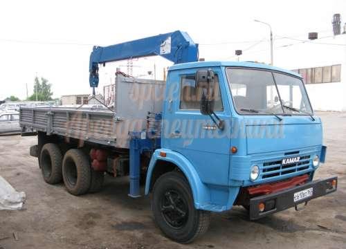 Манипулятор КамАЗ 5320