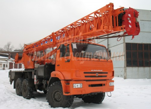 Автокран Клинцы 25т (стрела 28м+9м)