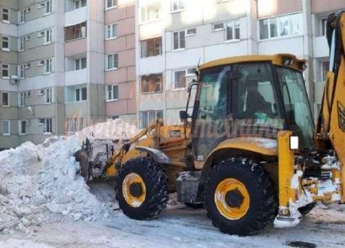 уборка и вывоз снега в Самаре
